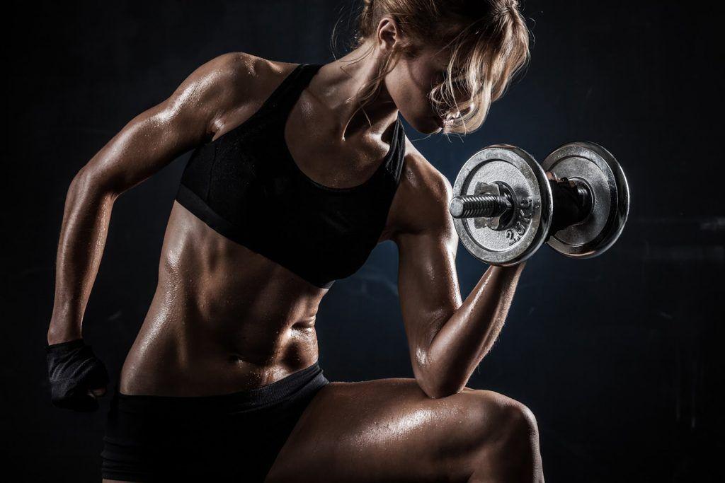 ejercicios para una mujer
