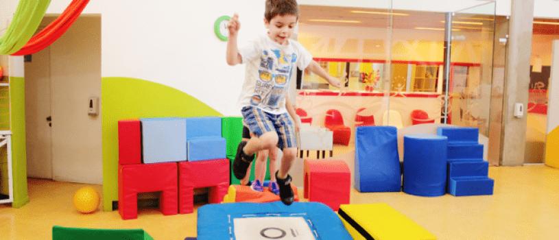 maquinas de ejercicios para niños