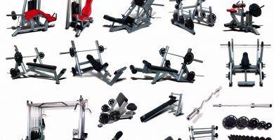 tipos de maquinas de ejercicios