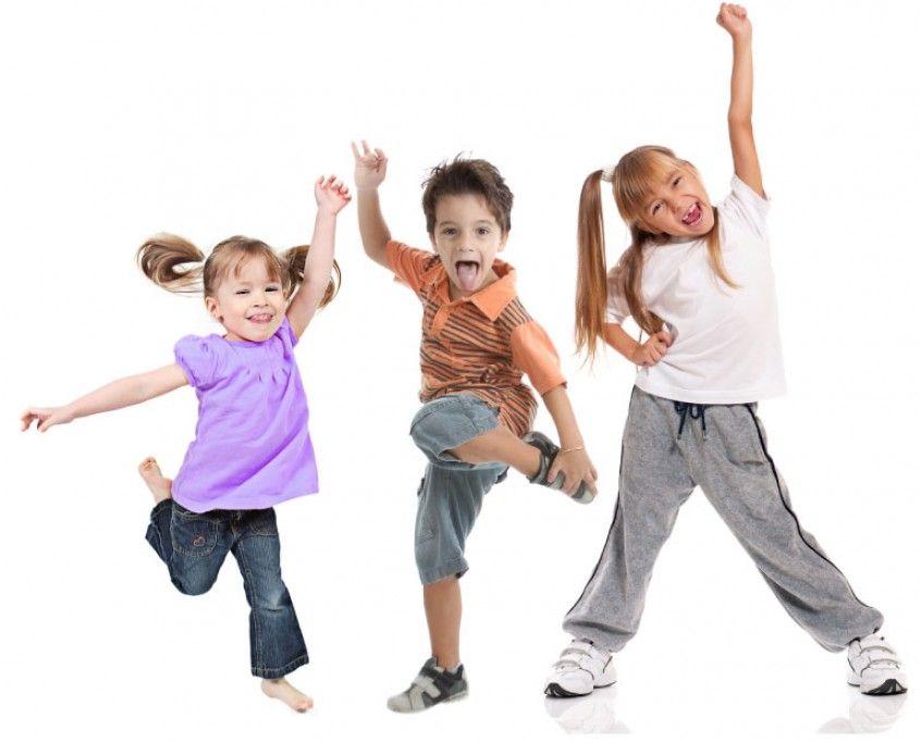 niños danzando