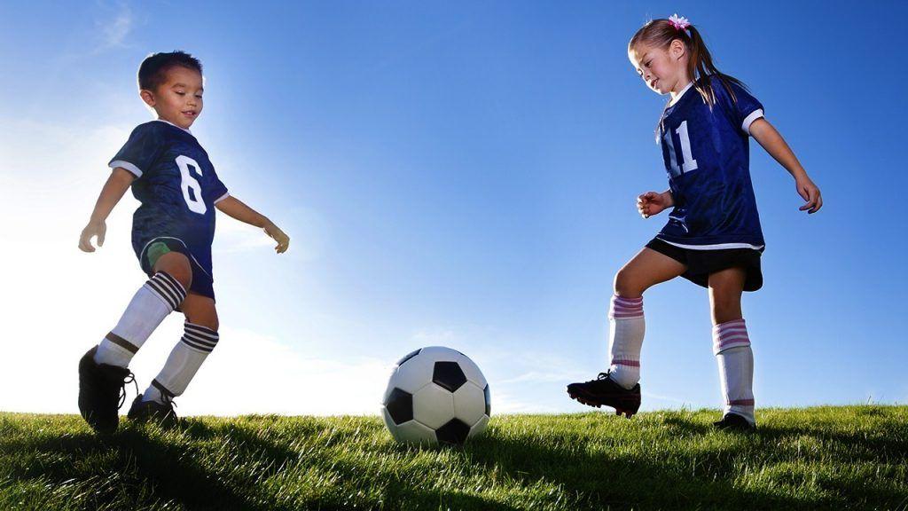 el futbol para niños