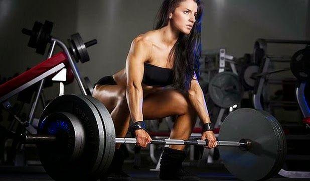 barra olímpica de pesas
