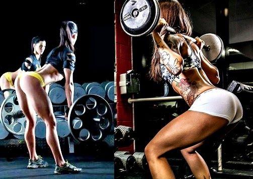 barra de pesas para ejercicios