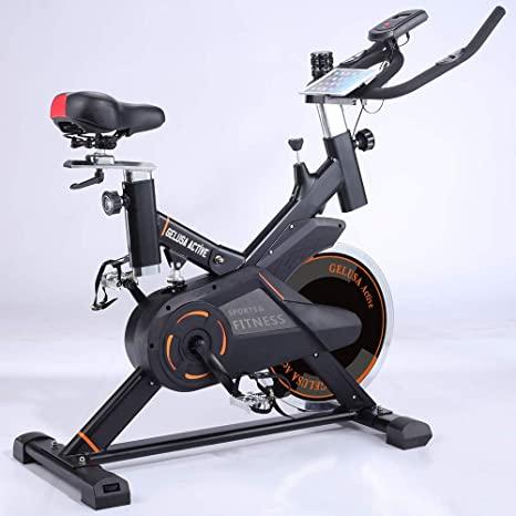 bicicleta ciclo indoor 20 kilos de disco active