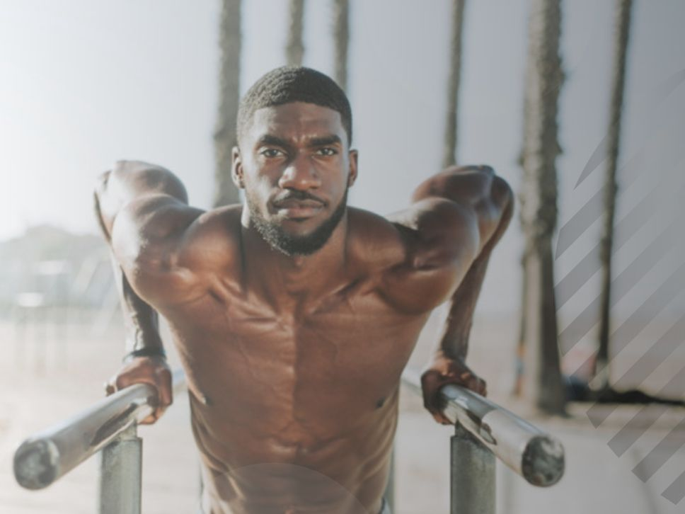 barras y paralelas ejercicio anaerobico